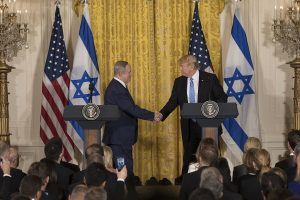 Benjamin Netanyahu and Donald Trump (Official White House Photo by Benjamin Applebaum)