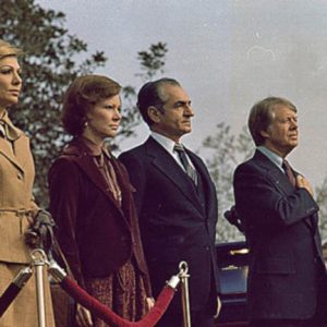 107 Jimmy and Rosalynn Carter host Shah and Shahbanu of Iran 1977