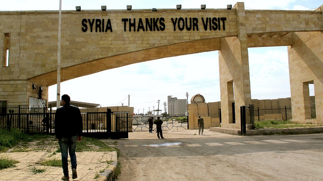 Syrian-Iraqi border post