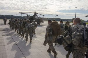 NATO paratroopers in Latvia (U.S. Army via Flickr).