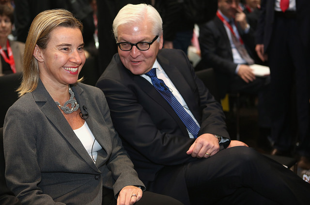 Steinmeier and Mogherini