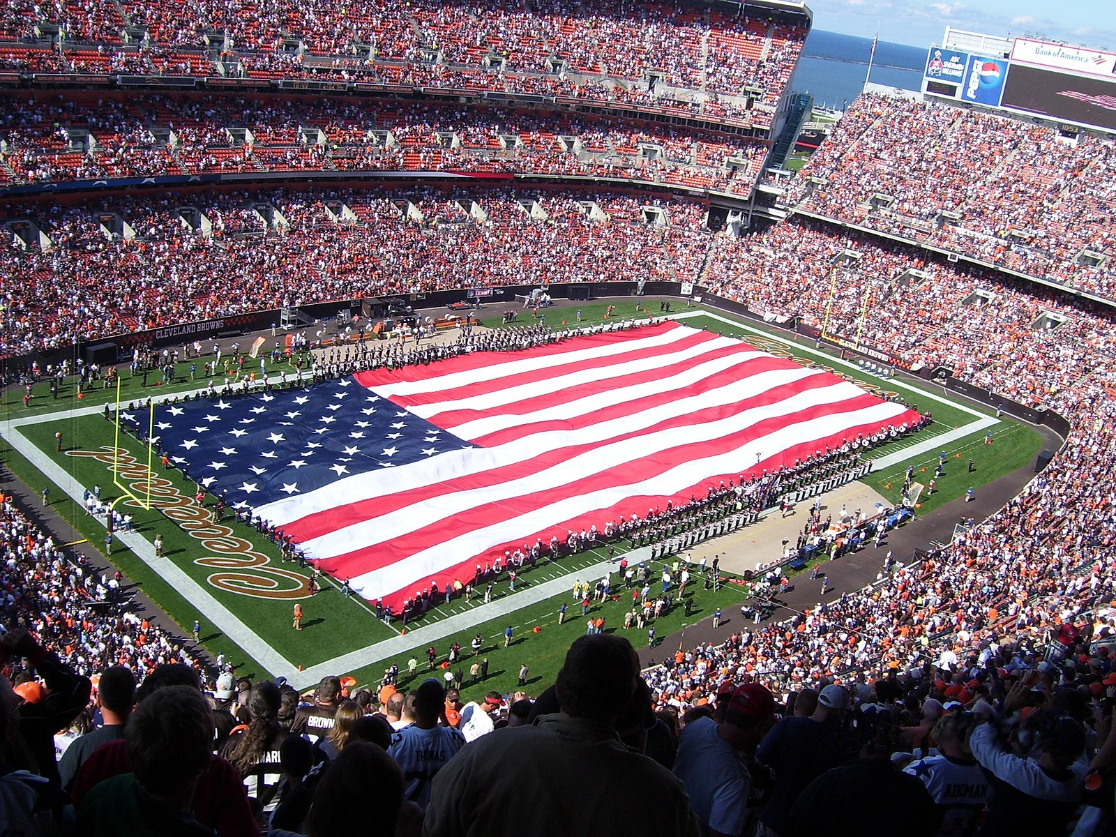 Cleveland Browns pre-game show, 2008