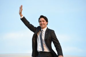 Canadian Prime Minister Justin Trudeau  (U.S. Air Force photo by Senior Airman Joshua R. M. Dewberry)