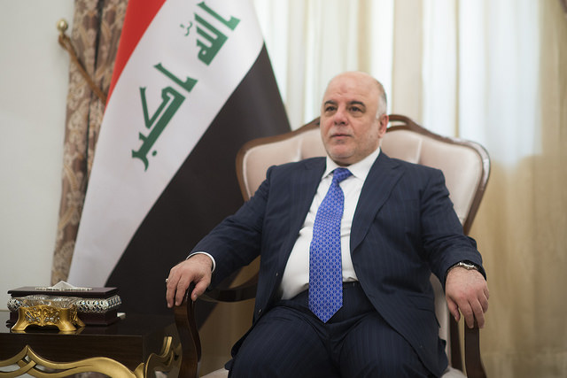 Haider al-Abadi (Joint Chiefs of Staff via Flickr)