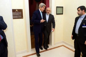 John Kerry and Javad Zarif (U.S. State Department via Flickr)