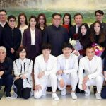 Kim Jong Un and K-pop stars