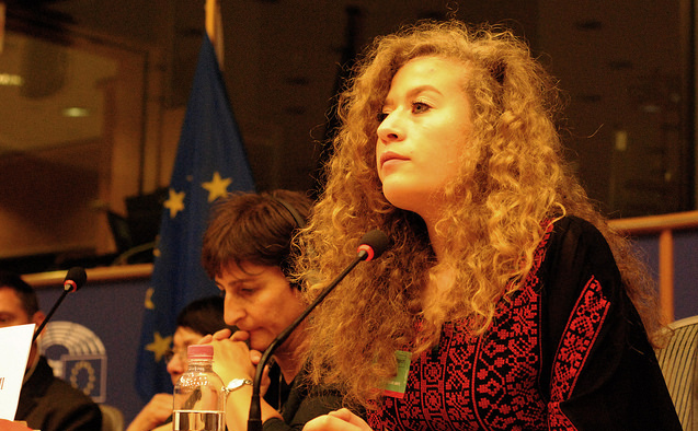Ahed Tamimi (Alberto Hugo Rojas via Flickr)