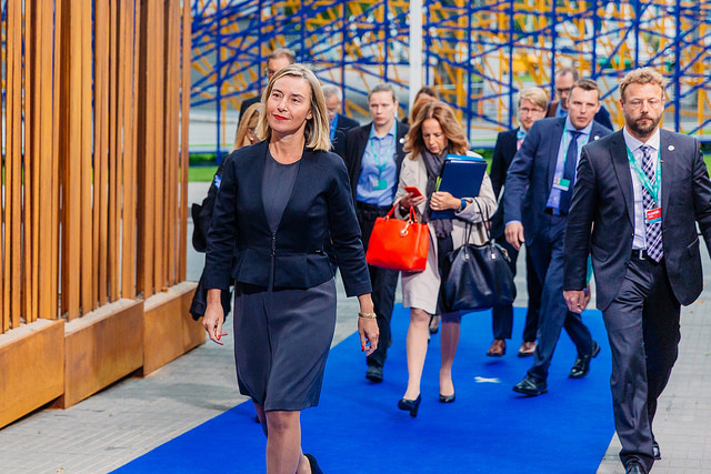 Federica Mogherini, EU High Representative (EU2017EE via Flickr)