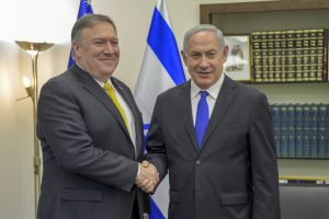 Mike Pompeo and Benjamin Netanyahu (State Department via Flickr)