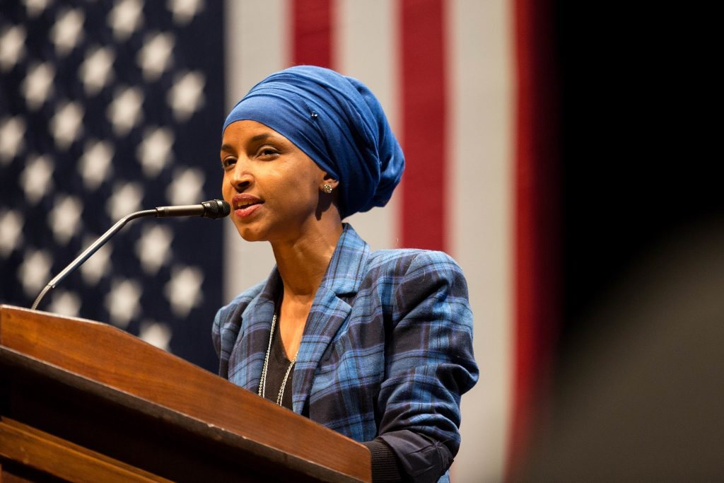 Congresswoman Ilhan Omar (Wikimedia Commons)