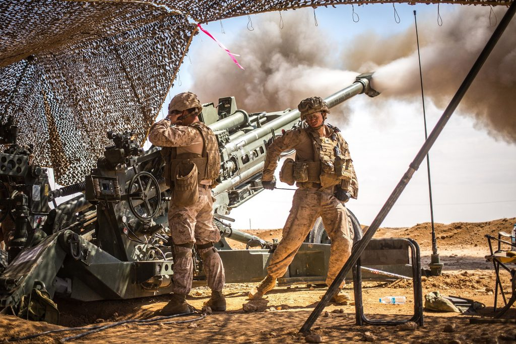 U.S. Marines in northern Syria, March 2017 (Wikimedia Commons)