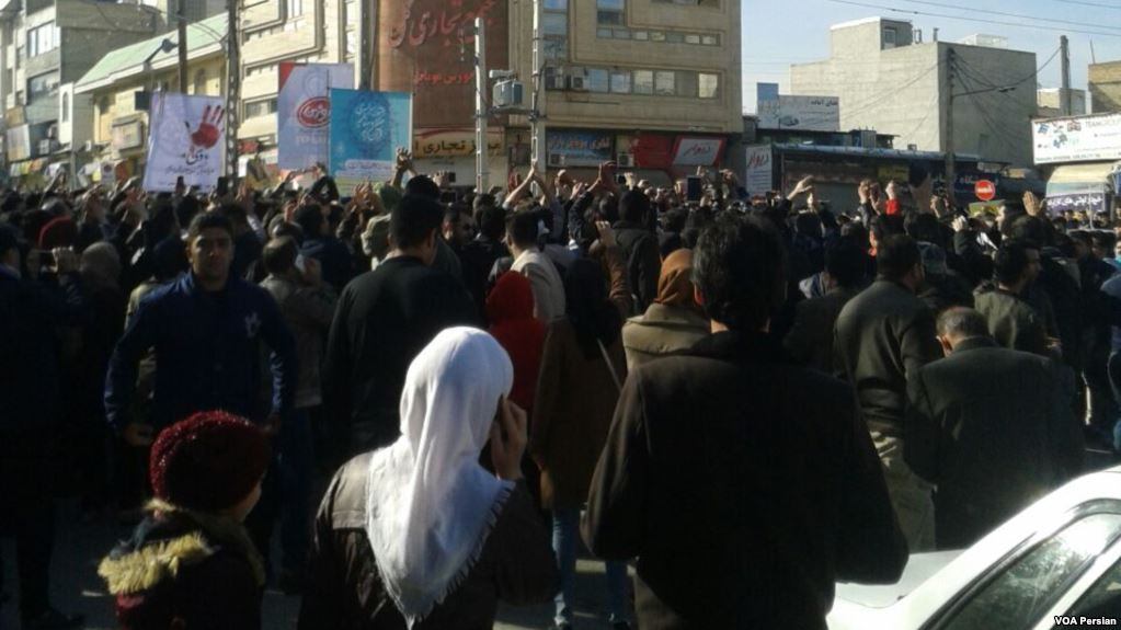29_December_2017_protests_in_Kermanshah,_Iran