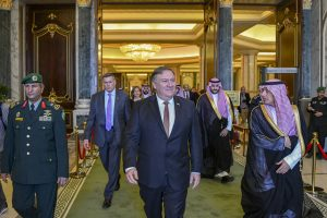 Mike Pompeo in Riyadh (State Department)