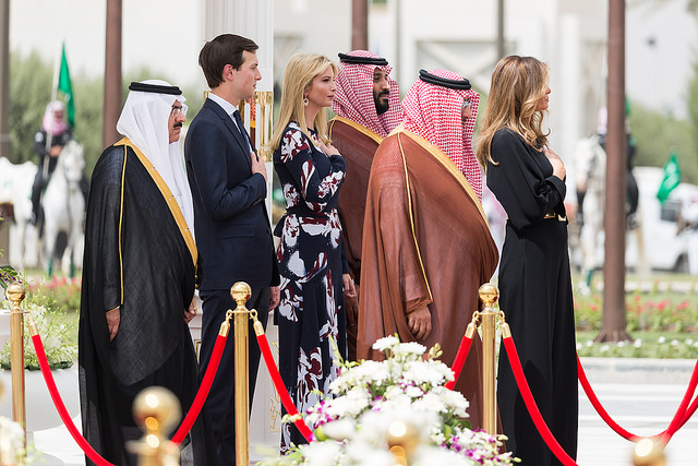 Trump's visit to Saudi Arabia (White House via Flickr)