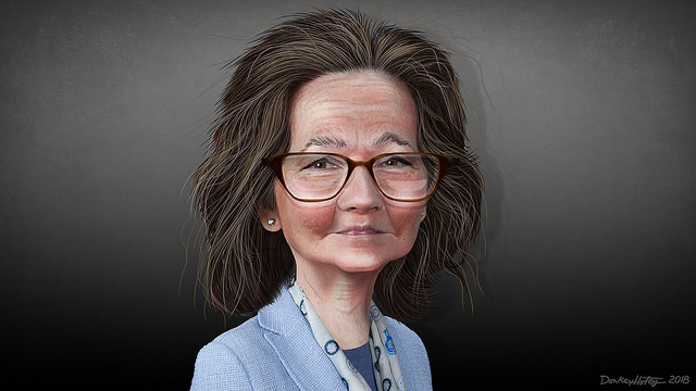 Gina Haspel (DonkeyHotey via Flickr)