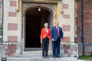 Theresa May and Donald Trump (White House via Flickr)