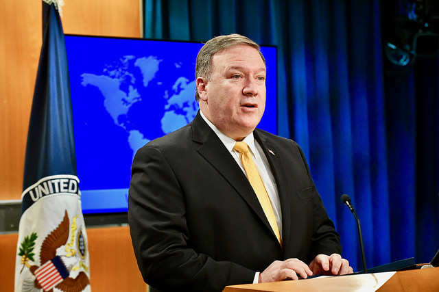 Mike Pompeo (State Department via Fickr)