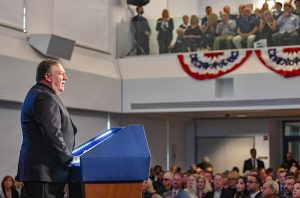 Mike Pompeo delivers speech at Reagan Library (State Department via Flickr)