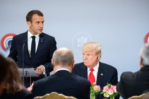 Emmanuel Macron and Donald Trump (White House via Flickr)