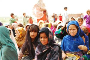 Afghan refugees (Hashoo Foundation via Flickr)