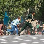 Ahvaz military parade attack (Fatemeh Rahimavian via Wikimedia Commons)