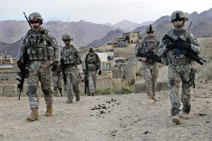 U.S. soldiers on patrol in Afghanistan (U.S. Army)