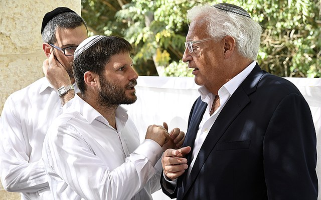 David Friedman visits yeshiva in Sderot (U.S. embassy via Wikimedia Commons)