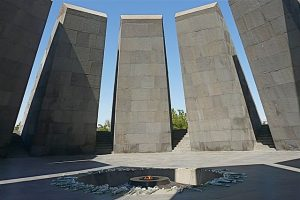 Armenian Genocide Memorial in Yerevan (Wikimedia Commons)