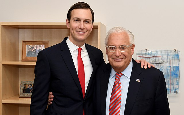 Jared Kushner and David Friedman (Wikimedia Commons)