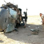 Black Hawk helicopter crash in Iraq (Wikimedia Commons)