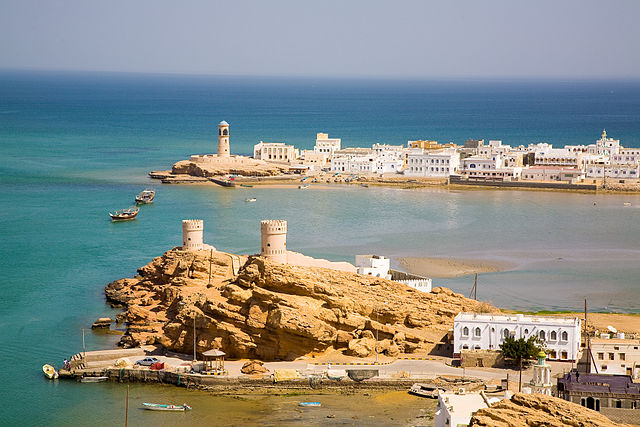 The port city of Sur in Oman