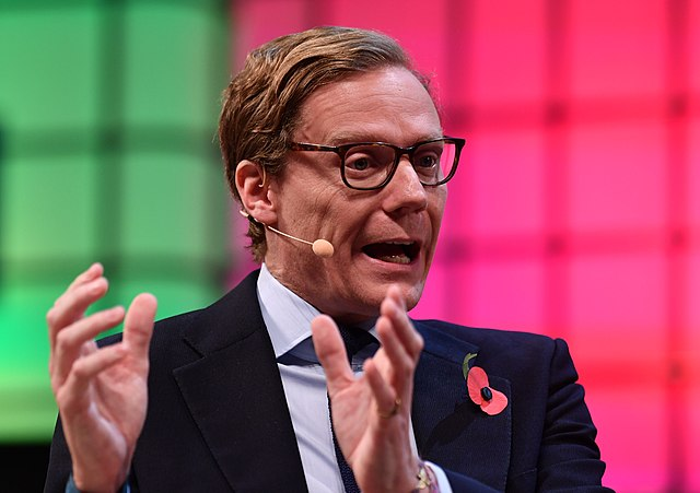 Alexander Nix of Cambridge Analytica (Wikimedia Commons)