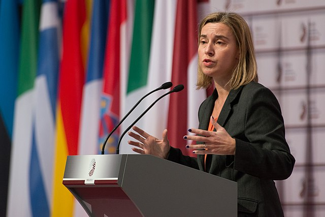 Federica Mogherini, the EU's point person on foreign policy