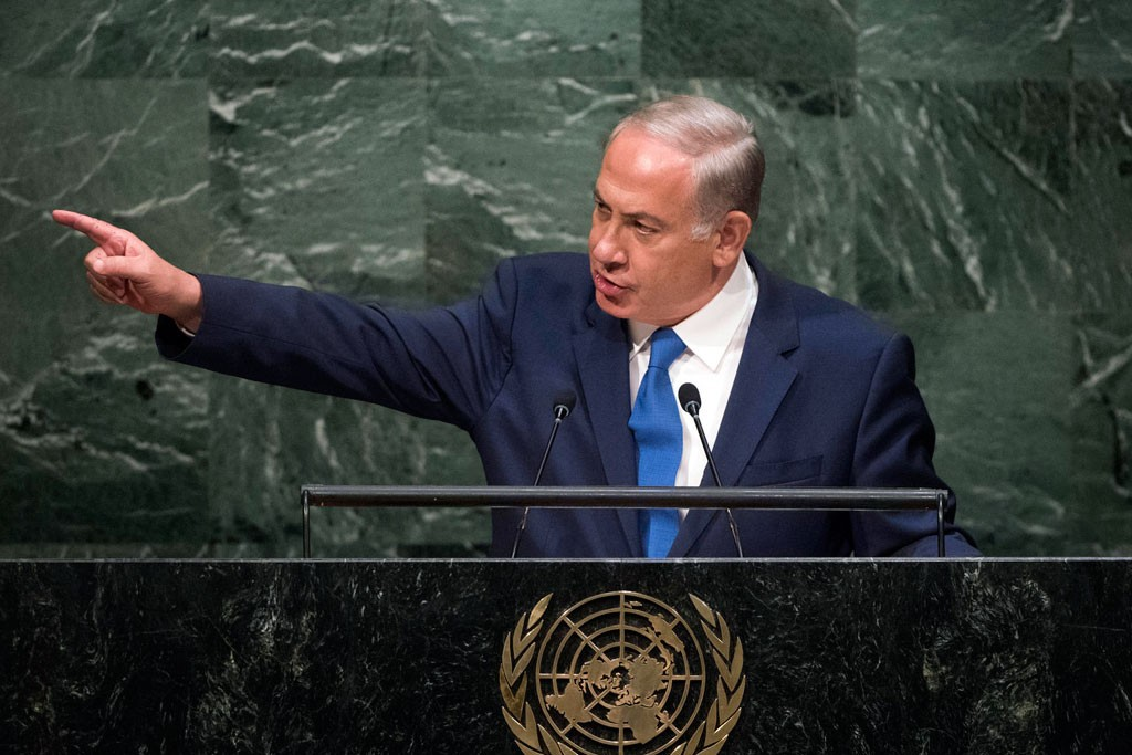 Statement by His Excellency Benjamin Netanyahu, Prime Minister of the State of Israel  General Assembly 70th session 22nd plenary meeting Continuation of the General Debate