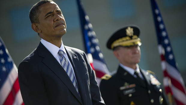 Obama and Army General Martin Dempsey