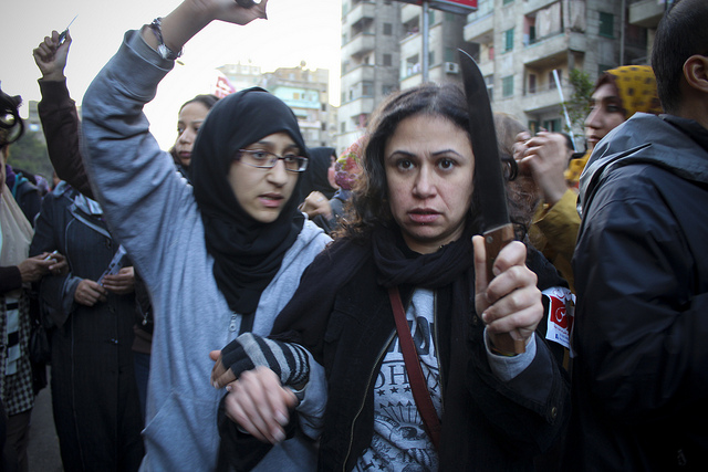 Anti-sexual harassment march in Egypt (Gigi Ibrahim via Flickr)