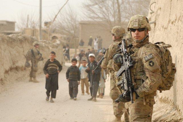 Afghanistan-US-Soldiers-Village