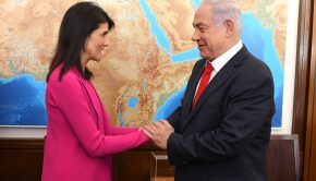 U.S. Permanent Representative to the UN, Ambassador Nikki Haley meets Israeli Prime Minister Benjamin Netanyahu at his office in Jerusalem, June 7, 2017.  U.S. Permanent Representative to the UN, Ambassador Nikki Haley meets Israeli President Reuven Rivlin at the President's Residence in Jerusalem, June 7, 2017.