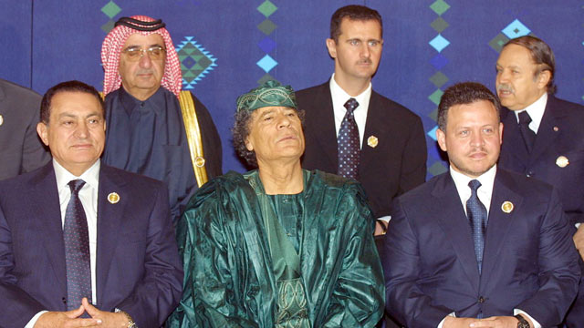 Arab-Dictators-Assad-Mubarak-Qadafi