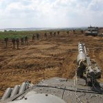 Israeli Defense Forces operate near border with Gaza (Wikimedia Commons)