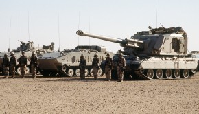 AuF1_and_AMX-10P_(Royal_Saudi_Land_Force)