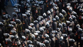 Central_Security_Forces_in_2011_Egyptian_Protests