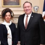 Masih Alinejad meeting with Secretary of State Mike Pompeo