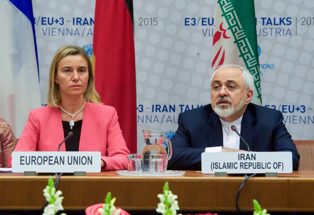 eu_high_representative_mogherini_and_iranian_foreign_minister_zarif_are_pictured_during_final_plenary_of_iran_nuclear_negotiations_with_iranian_officials