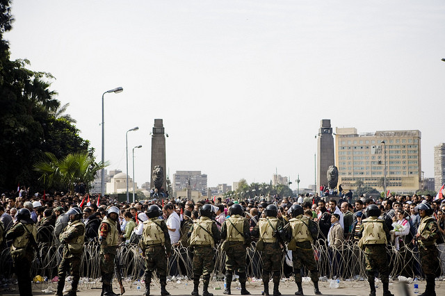 Egypt-Army-Fence