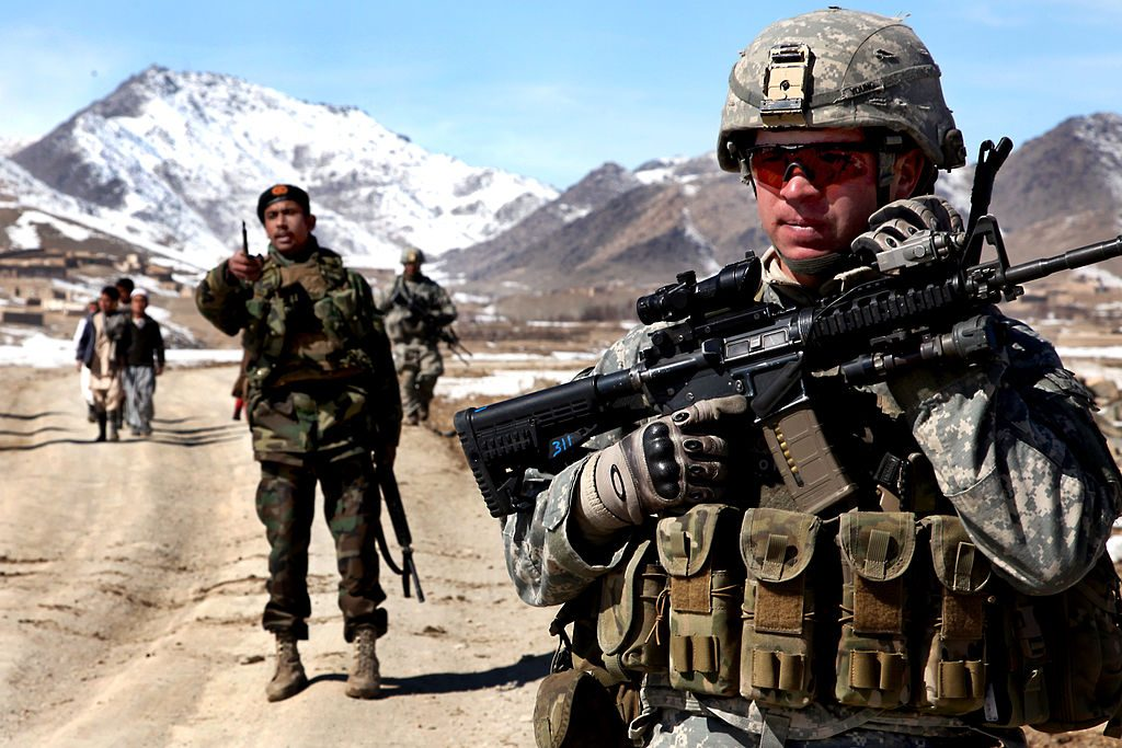 U.S. Army patrol in Afghanistan (source: Flickr)