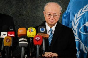 International Atomic Energy Agency head Yukiya Amano