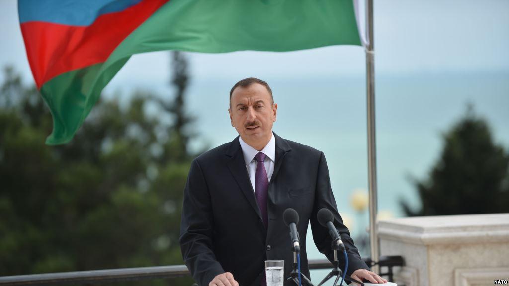 Azerbaijani President Ilham Aliyev (NATO)