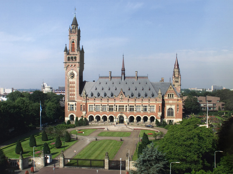 International Court of Justice (Wikimedia Commons)