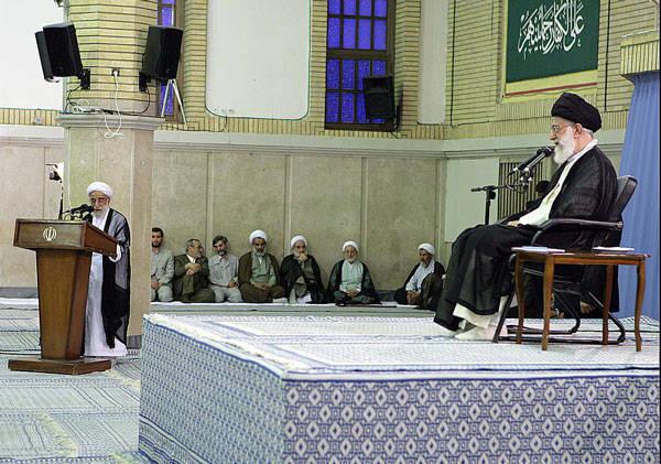 Iran-Khatami-Khamenei